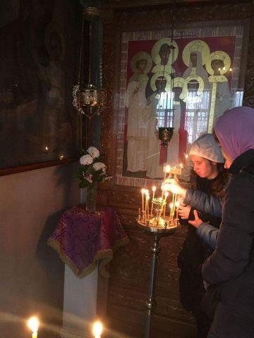 в Богородском храме